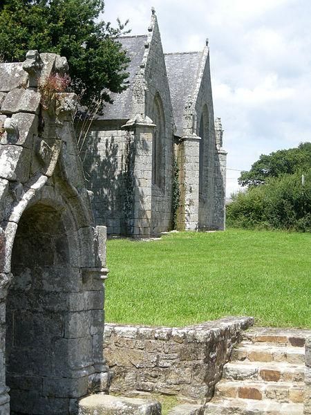 Photo du Monument Historique Chapelle Saint-Méen situé à Ploemel
