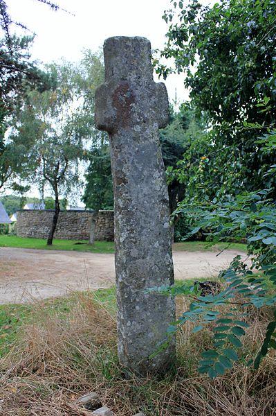 Photo du Monument Historique Croix de Locmiquel situé à Ploemel