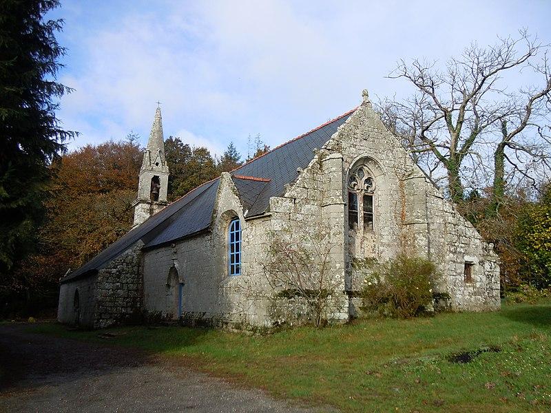 Photo du Monument Historique Chapelle de Lochrist situé à Ploërdut