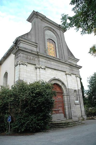 Photo du Monument Historique Ancienne chapelle des Ursulines situé à Ploërmel