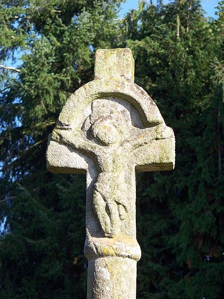 Photo du Monument Historique Croix de Villenard situé à Ploërmel