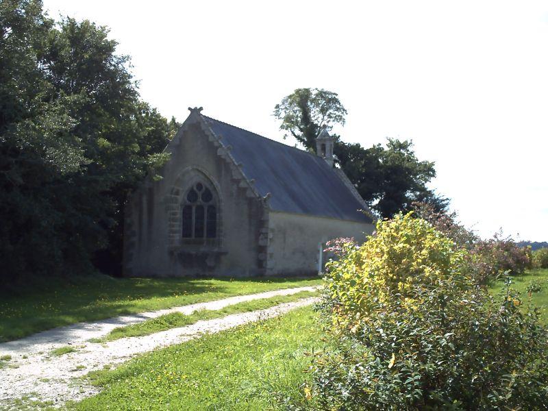 Photo du Monument Historique Chapelle de Locmaria situé à Plouay