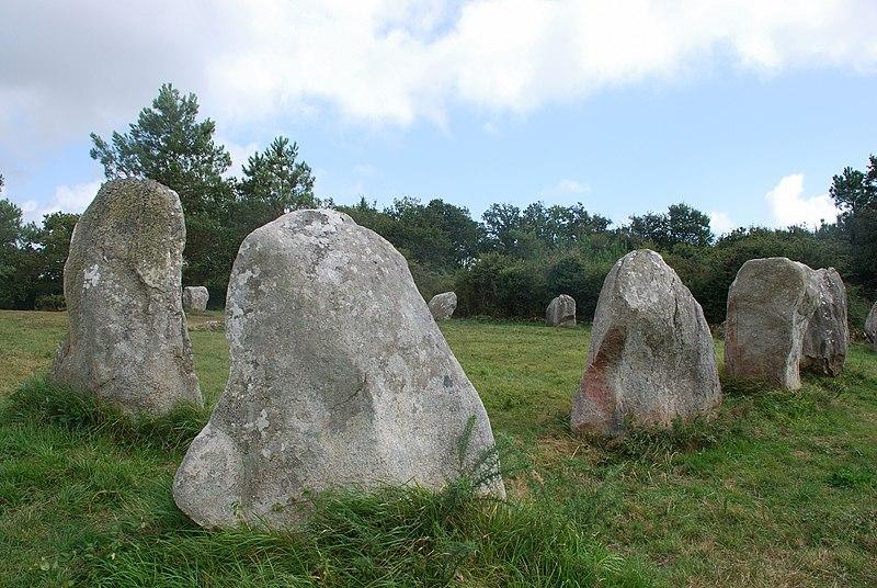 Photo du Monument Historique Cromlech de Crucuno situé à Plouharnel