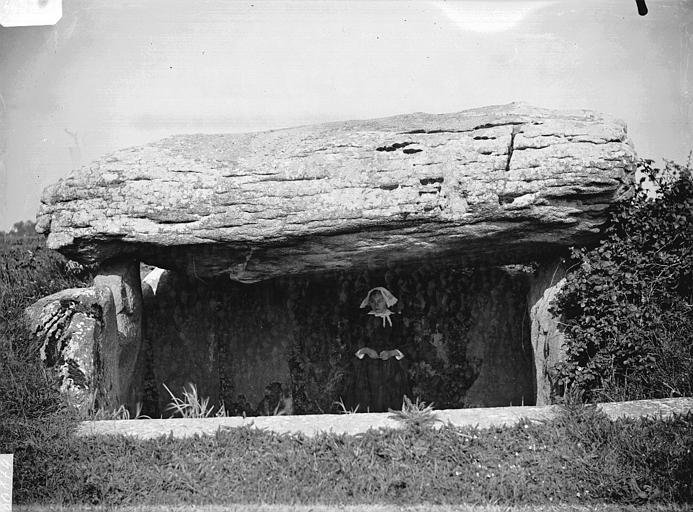 Photo du Monument Historique Dolmen de Runesto situé à Plouharnel