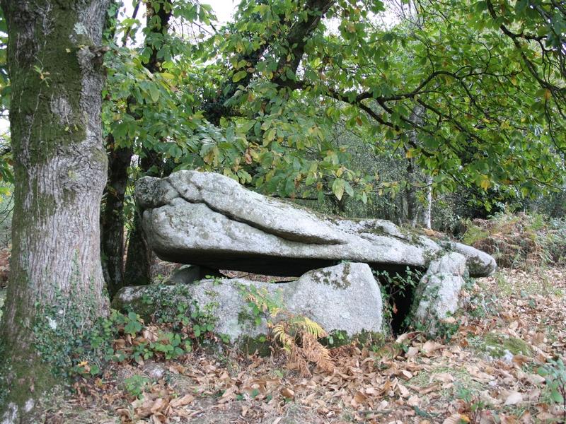 Photo du Monument Historique Dolmen de Guidfosse situé à Plouray