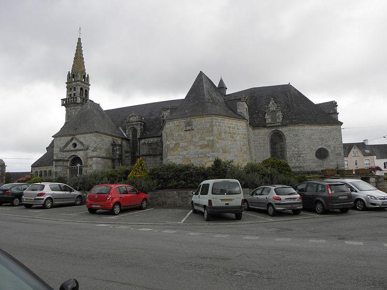 Photo du Monument Historique Eglise Saint-Yves situé à Plouray