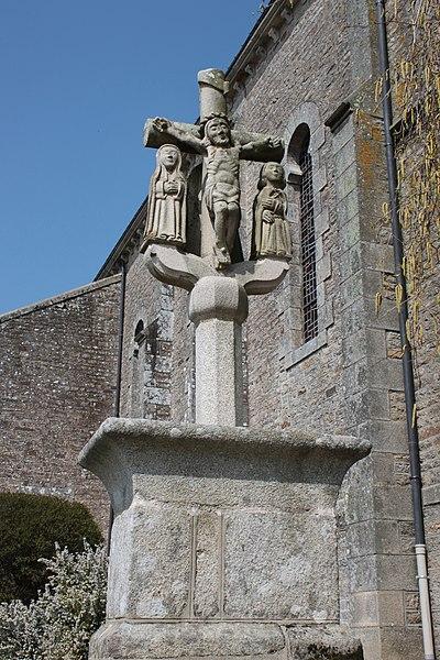 Photo du Monument Historique Calvaire de Callac situé à Plumelec
