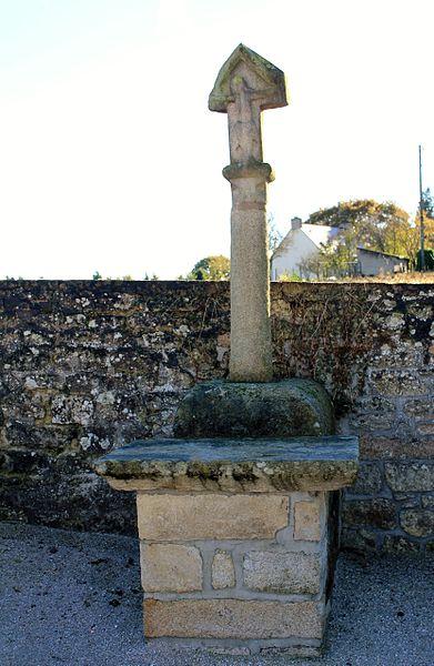 Photo du Monument Historique Cimetière de Saint-Aubin situé à Plumelec