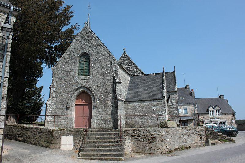 Photo du Monument Historique Eglise Saint-Aubin situé à Plumelec