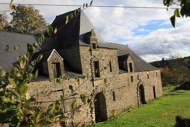 Photo du Monument Historique Manoir de Cadoudal situé à Plumelec