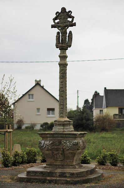 Photo du Monument Historique Calvaire de Port-Arthur situé à Pluméliau