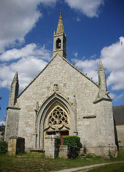 Photo du Monument Historique Chapelle Saint-Nicolas-des-Eaux situé à Pluméliau