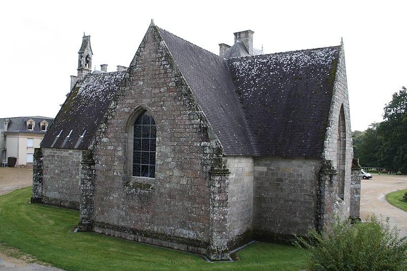 Photo du Monument Historique Chapelle Sainte-Anne situé à Pluméliau