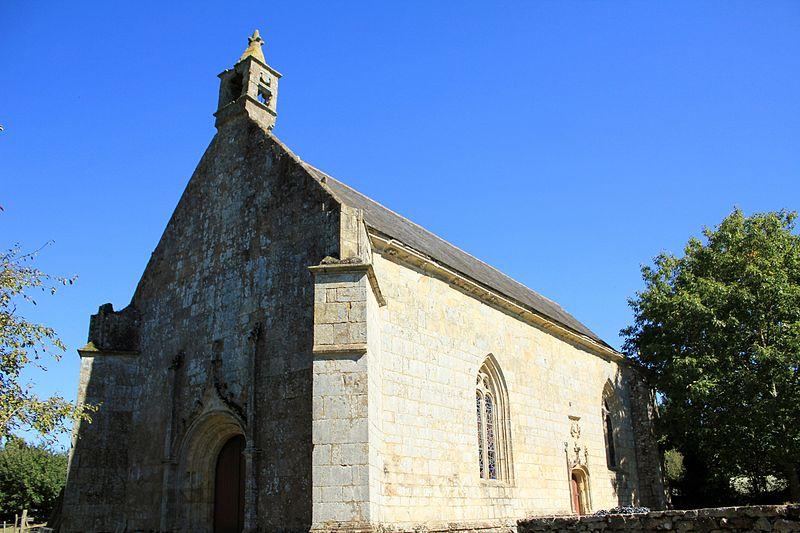 Photo du Monument Historique Chapelle de la Vraie-Croix de Langroës situé à Plumergat