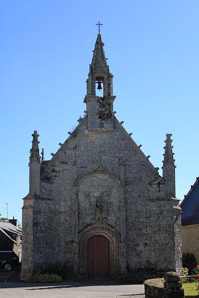 Photo du Monument Historique Chapelle de la Trinité situé à Plumergat