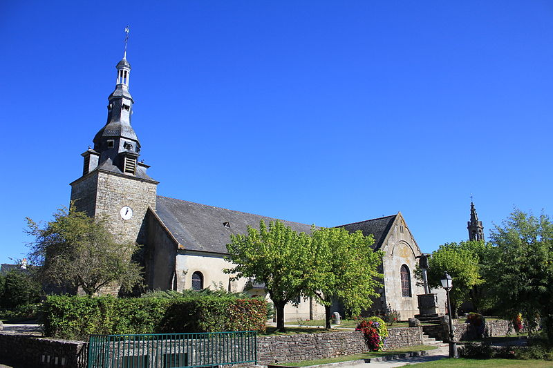 Photo du Monument Historique Eglise Saint-Thuriau situé à Plumergat