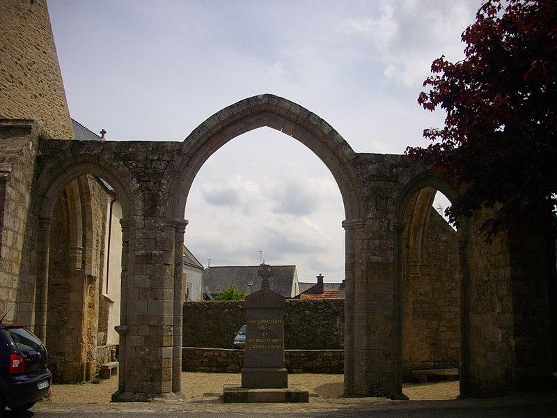 Photo du Monument Historique Chapelle Notre-Dame-des-Orties situé à Pluvigner