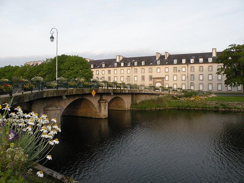Photo du Monument Historique Caserne Clisson situé à Pontivy
