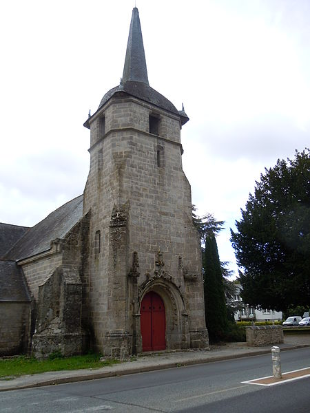 Photo du Monument Historique Eglise Saint-Mériadec-de-Stival situé à Pontivy