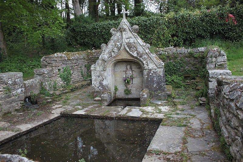 Photo du Monument Historique Fontaine de Saint-Mériadec à Stival situé à Pontivy