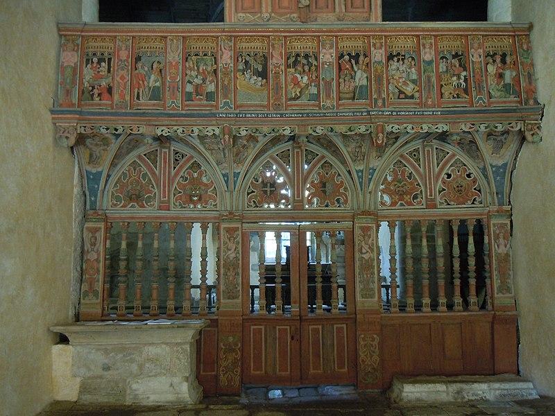 Photo du Monument Historique Chapelle Saint-Nicolas situé à Priziac