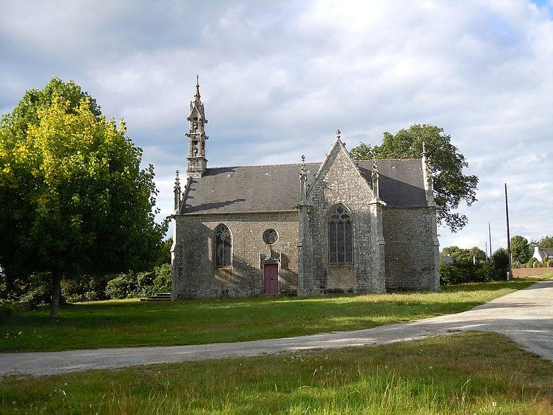 Photo du Monument Historique Chapelle Saint-Yves situé à Priziac