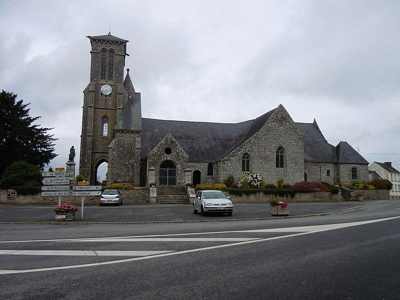 Photo du Monument Historique Eglise Saint-Beheau situé à Priziac