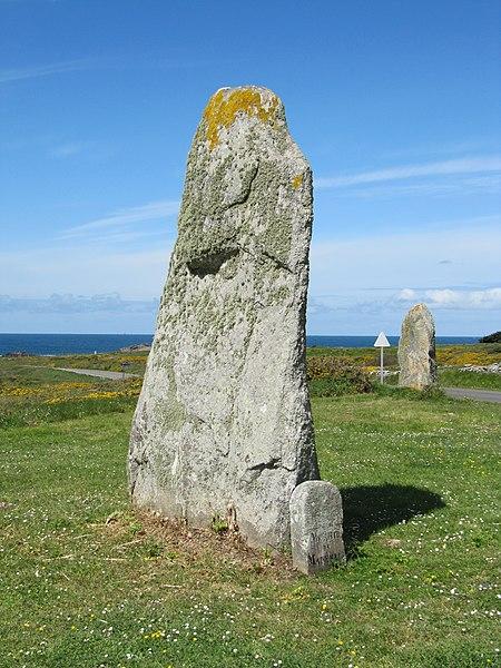 Photo du Monument Historique Deuxième menhir de Mané-Meur situé à Quiberon