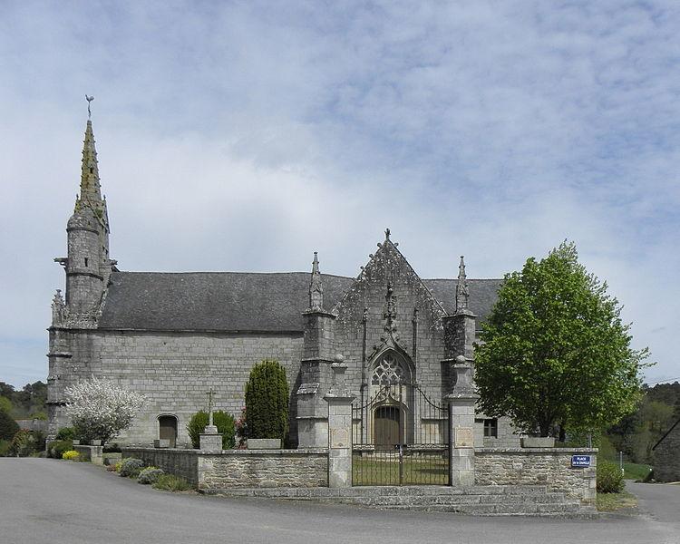 Photo du Monument Historique Chapelle de Locmaria situé à Quistinic
