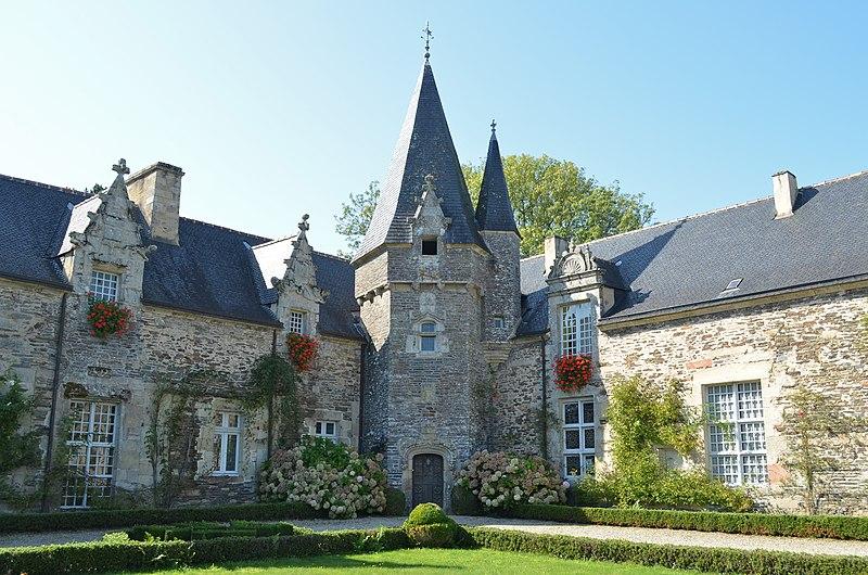 Photo du Monument Historique Château situé à Rochefort-en-Terre