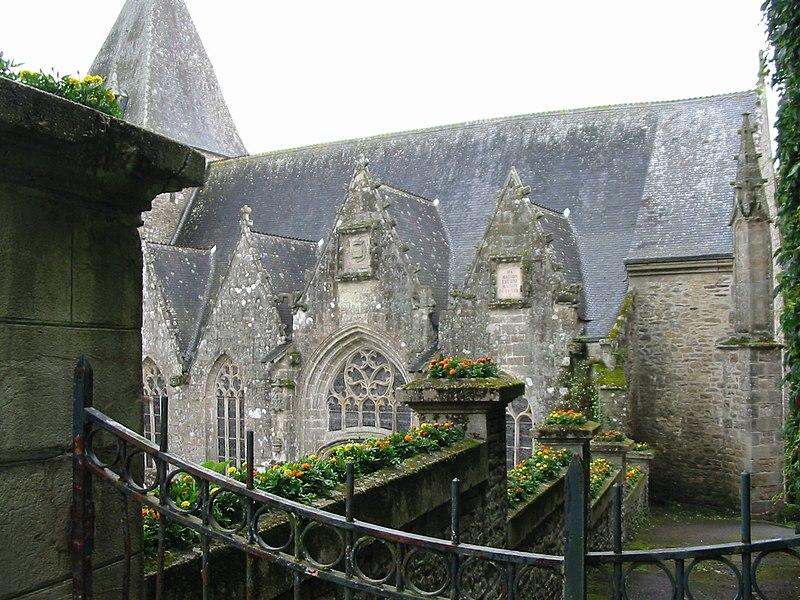 Photo du Monument Historique Eglise Notre-Dame-de-la-Tronchaye situé à Rochefort-en-Terre