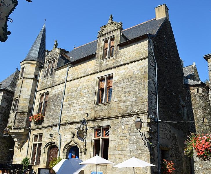 Photo du Monument Historique Maison du 16e siècle situé à Rochefort-en-Terre
