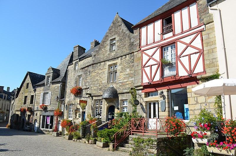 Photo du Monument Historique Immeuble situé à Rochefort-en-Terre