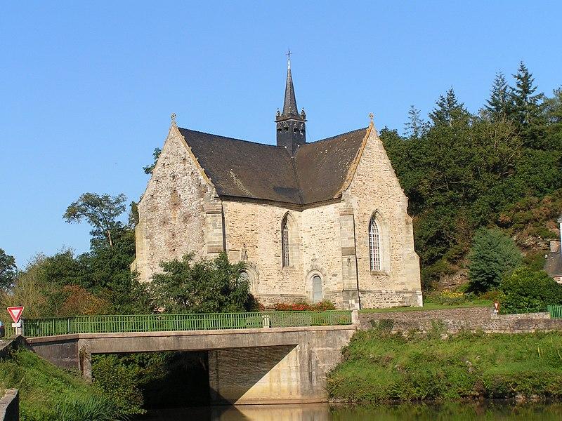 Photo du Monument Historique Chapelle Notre-Dame-de-Bonne-Encontre à Saint-Samson situé à Rohan