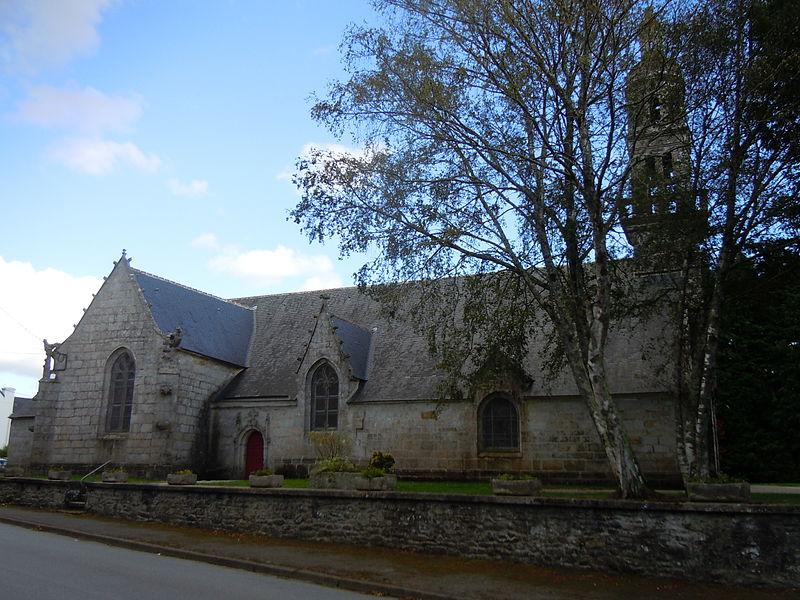 Photo du Monument Historique Eglise Notre-Dame de Lorette situé à Roudouallec