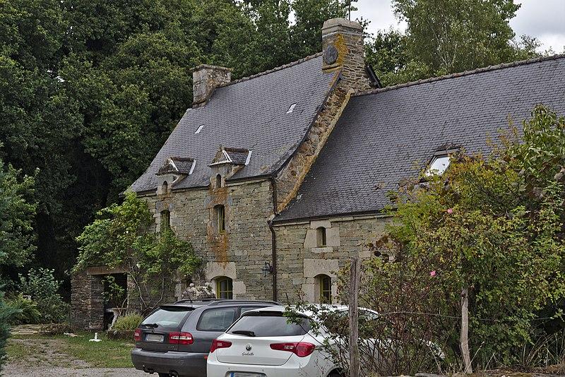 Photo du Monument Historique Ferme Le Corboulo situé à Saint-Aignan
