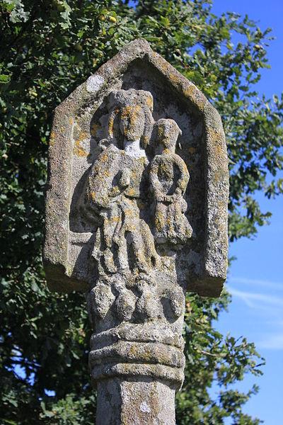 Photo du Monument Historique Croix du Point du Jour situé à Saint-Allouestre