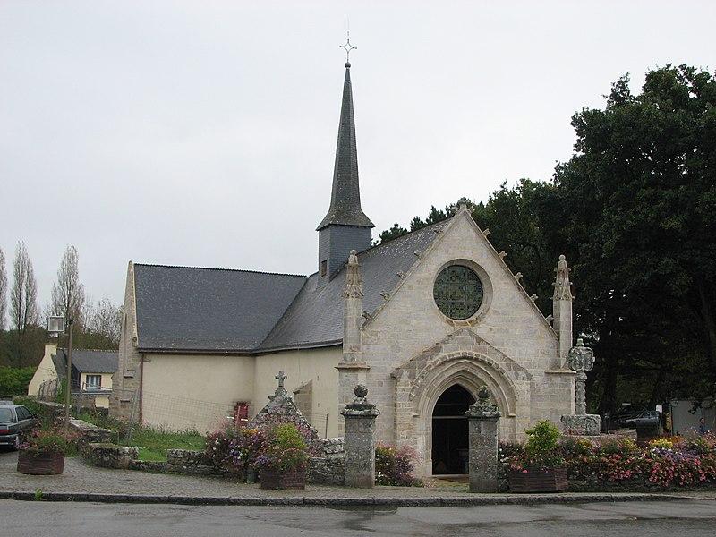 Photo du Monument Historique Chapelle Saint-Avé-d'en-Bas, dite aussi Notre-Dame-du-Loc situé à Saint-Avé