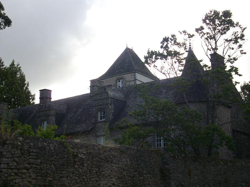Photo du Monument Historique Château de Rulliac situé à Saint-Avé
