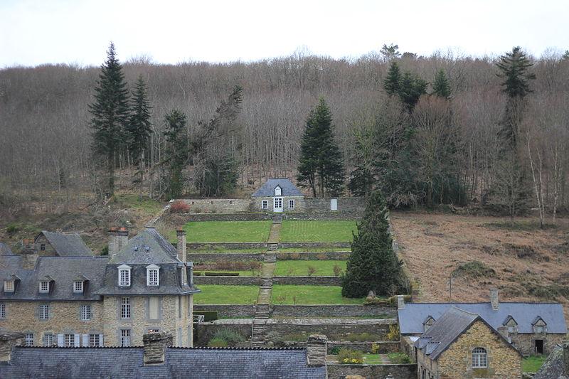 Photo du Monument Historique Ancienne forges des Salles situé à Sainte-Brigitte