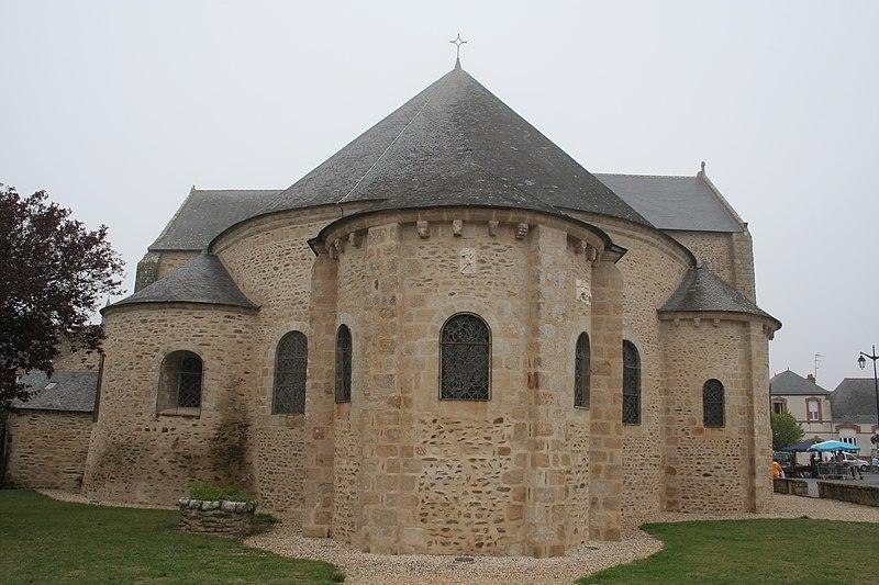 Photo du Monument Historique Eglise Saint-Gildas situé à Saint-Gildas-de-Rhuys