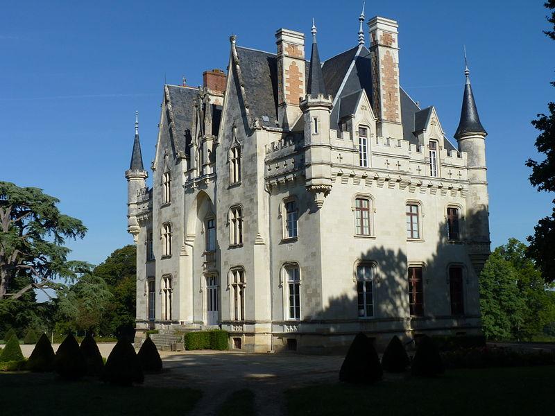 Photo du Monument Historique Château de Brignac situé à Saint-Guyomard