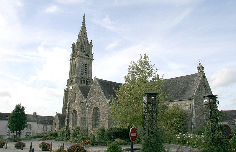 Photo du Monument Historique Eglise Saint-Jean-de-Berveley situé à Saint-Jean-Brévelay