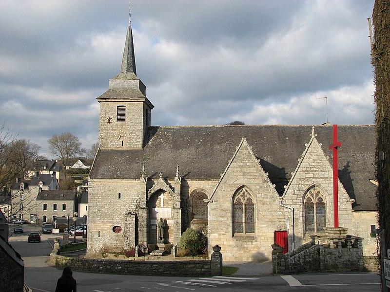 Photo du Monument Historique Eglise de Saint-Mayeul situé à Saint-Nolff