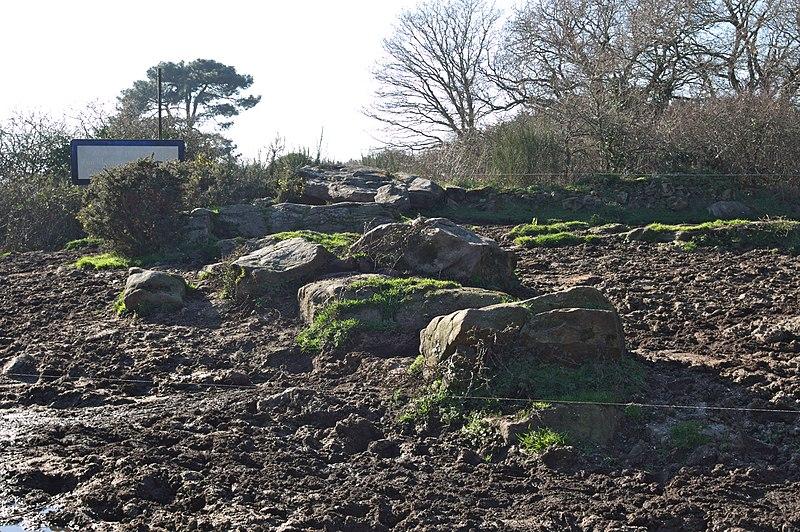 Photo du Monument Historique Dolmen de Kervehennec dit Mané-Han situé à Saint-Philibert