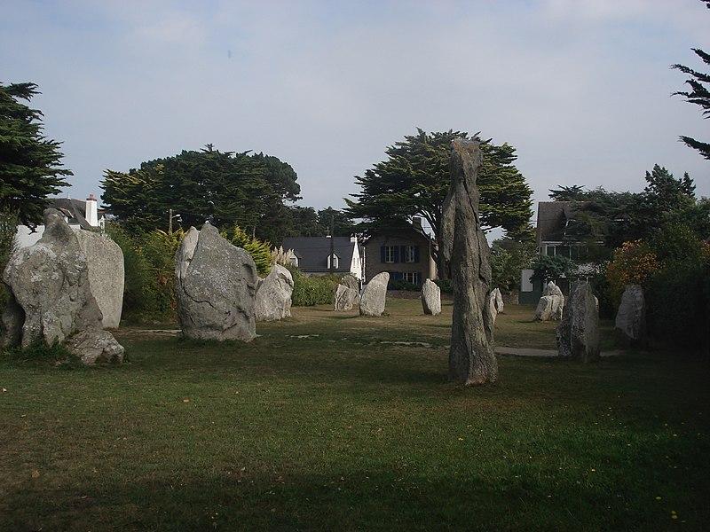 Photo du Monument Historique Alignements de Saint-Pierre situé à Saint-Pierre-Quiberon