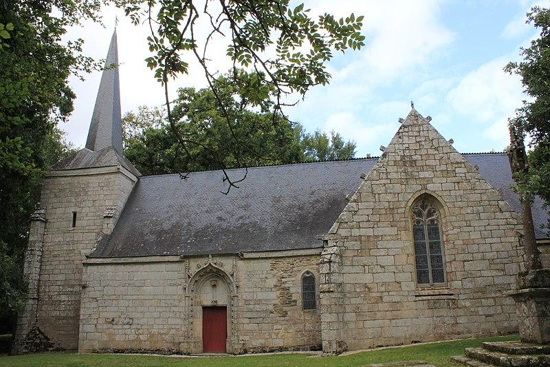 Photo du Monument Historique Chapelle Notre-Dame de Joie de Cohazé situé à Saint-Thuriau