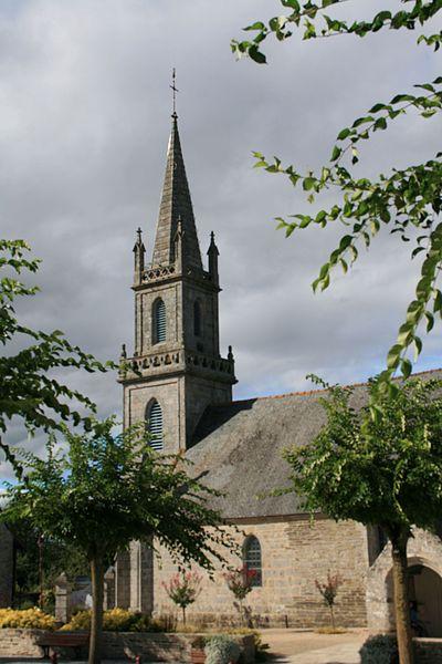 Photo du Monument Historique Eglise Saint-Thuriau situé à Saint-Thuriau