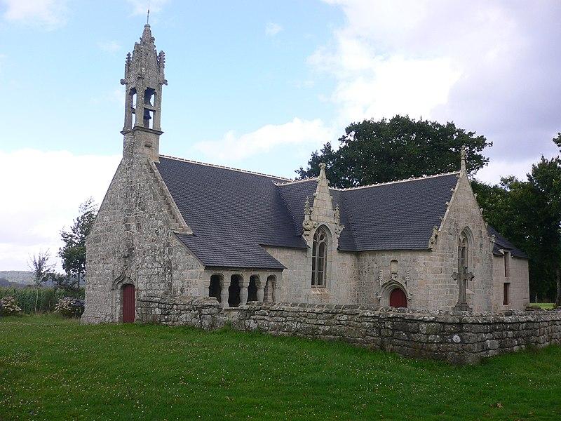 Photo du Monument Historique Chapelle Saint-Guen et son ossuaire situé à Saint-Tugdual