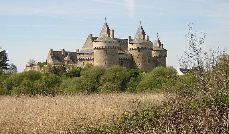 Photo du Monument Historique Ruines du château de Suscinio situé à Sarzeau